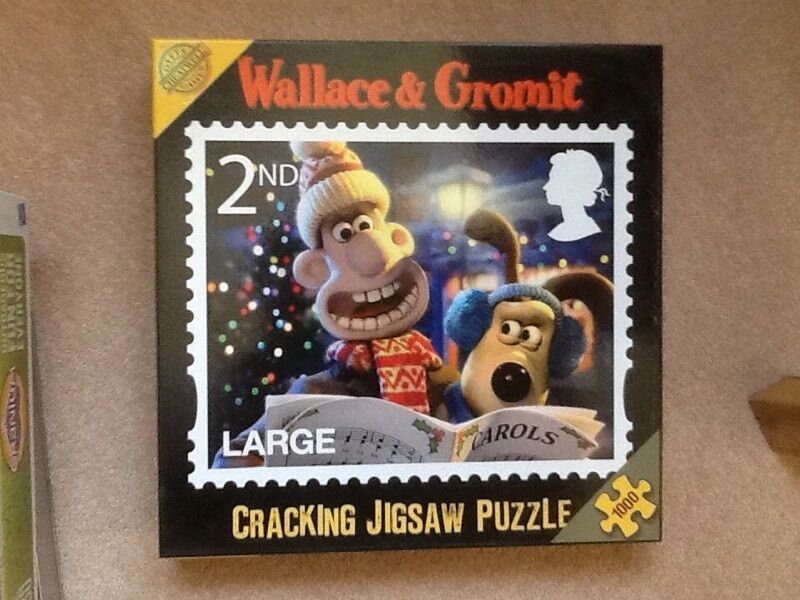 Wallace & Gromit jigsaw