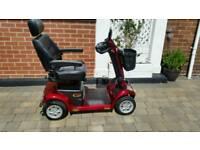 Mobility scooter pride apex sprit plus 2016