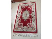 Chinese Wool Rug- Excellent condition