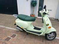 Vespa et 50 retro moped twist & go new mot great little bike