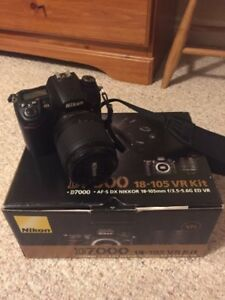 Nikon D7000 body + 18-105mm Kit lens