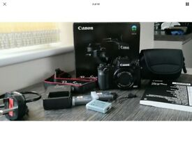 Cannon Powershot G5X Digital Camera with accessories