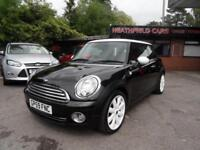 "10 (59) MINI 1.6 COOPER 6-SPEED 17"" WHITE ALLOYS, ONE PREVIOUS OWNER"