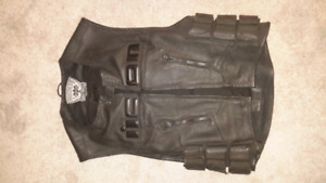 Icon Leather Swat Style Regulator Vest   S/M