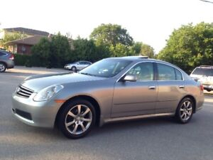 2005 INFINITI G35X AWD AUTOMATIC LEATHER ROOF XENONS ALLOYS