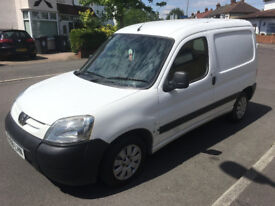 PEUGEOT PARTNER VAN 1.9 HDI 2006 - 1 OWNER WITH FULL SERVICE HISTORY - DRIVES WELL - NO VAT!!!!!!!