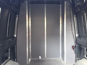 Partition wall for sprinter van