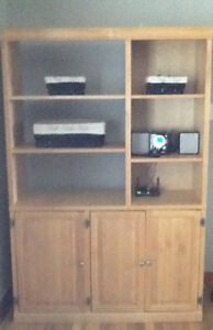Solid Wooden Entertainment Centre