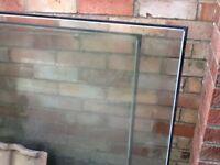 Double glazed panels