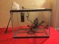14 Litre Fish Tank & Accessorie