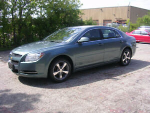 2009 Chevrolet Malibu lt Sedan- suede/leather----122000km