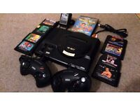 Sega Megadrive + 9 Games + 2 Controllers