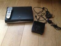 Sky HD Box with remote control & wifi box