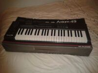 M-Audio Axiom 49 keyboard - as new - barely used - boxed