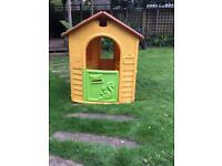 Small Plastic playhouse