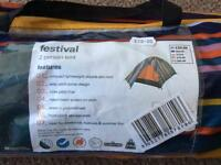 Two man tent never used bought 6weeks ago