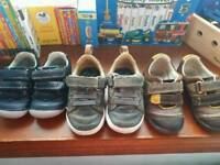 Selection of Clark's shoes