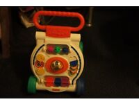 Fisher price infant walk along toy