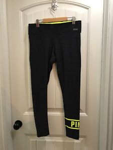 Ladies PINK reversible Leggings for sale