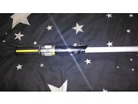 Master Replicas Anakin Skywalker Force FX Lightsaber.