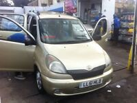 Toyota yaris verso 2002 authentic top of the range model full service history air con leather seats