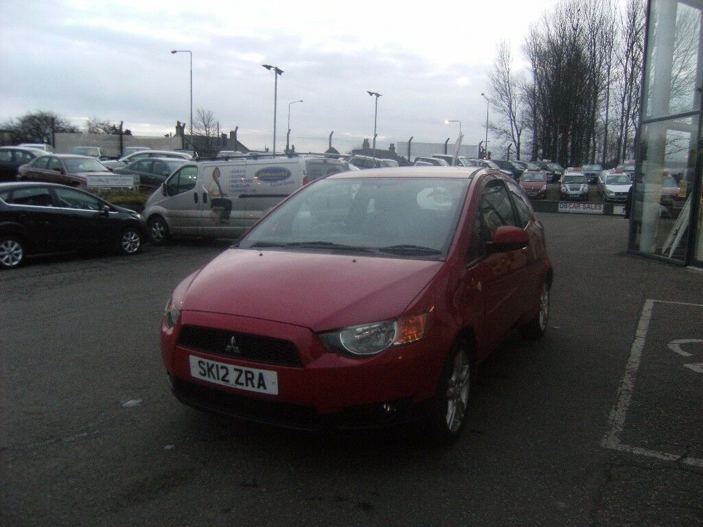 1af0e2362f 2012 12 MITSUBISHI COLT 1.3 JURO 3D 95 BHP   GUARANTEED FINANCE   PART EX  WELCOME