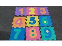 x9 Foam floor tiles