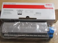 Genuine Black OKI toner for C5850 / C5950