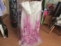 LADIES STRAPLESS DRESS WITH TAGS SIZE 18