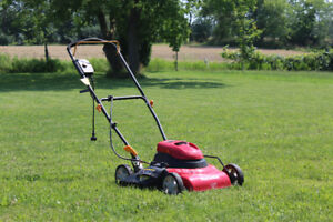 Electric Lawnmower - Excellent Condition