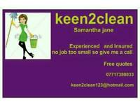 Do you need a cleaner