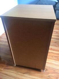 3drawer chest of draws/beside table/office?
