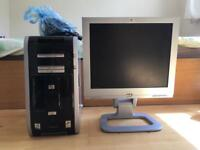Hp pavilion m1000 pc and monitor