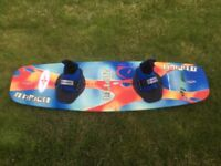 O'Brien Blunt 137 Wakeboard (Adjustable Hyperlite Bindings)