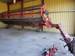 Massey Ferguson 210 Pull Type Double Swather (and a spare!)
