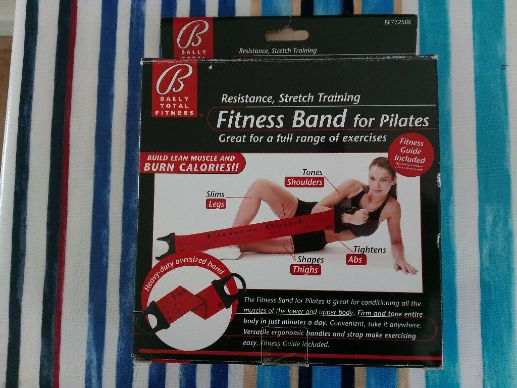 Fitness bandin Launceston, CornwallGumtree - Fitness band for pilates, each end of the band has a handle, old but hardly used