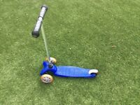 Mini micro scooter - blue