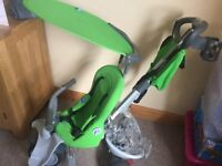 Baby/toddler smartrike with raincover