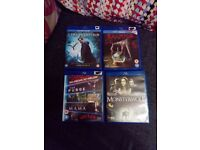 ** Horror Blu Rays 8 in total **