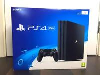 BRAND NEW SEALED Sony PS4 Pro PlayStation 4 Pro 1TB Game Console