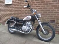 Honda Rebel 125cc cruiser chopper bobber style bike