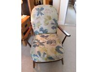 ERCOL ORIGINALS FIRESIDE CHAIR RECENT BUY. AS NEW