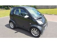 Semi Automatic 2004 Smart Coupe for 2 City Passion 700 CC Petrol 10 Month MOT Leather Interior..