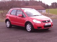 2008 SUZUKI SX4 GL 1590cc 12 MONTHS M.O.T 6 MONTHS WARRANTY (FINANCE AVAILABLE)