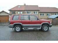 ISUZU TROOPER CITATION DT LWB 299CC SWAP FOR GOOD PEOPLE CARRIER