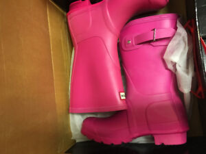 Hunter Boots short style size 5 and 6