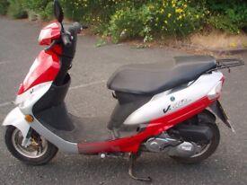 peugeot v clic 50 scooter