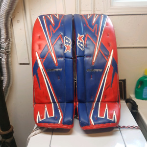 Brian's Subzero goalie pads/gloves, Chest Protector and pants