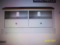 WANTED, WITH DELIVERY. MODERN WHITE SIDEBOARD+TV UNIT OR COFFEE TABLE.WANTED