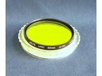 Hoya 55mm HMC Green (XO) filter excellent condition
